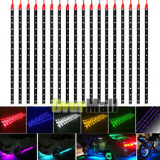 Lot Waterproof 12''/15 DC 12V Motor LED Strip Underbody Light For Car Motorcycle