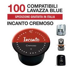 100 Capsule caffè Incanto Cremoso Italian Coffee compatibili Lavazza Blue