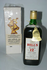 WHISKY BELL´S ROYAL VAT 12 YEARS LUXE BLENDED SCOTCH WHISKY  AÑOS 70 IN BOX 75cl