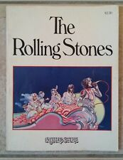 THE ROLLING STONES 1975 Rolling Stone Magazine Collectible Book