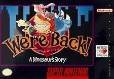 NES ~ WE'RE BACK A DINOSAUR STORY --- SUPER NINTENDO SNES