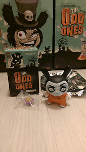 """Kidrobot The Odd Ones Dunny 3"""" Scott Tolleson - Cereal Killer Worldwide Free S/H"""