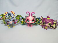 Littlest Pet Shop Lot of 3 Large Moonlite Fairy Faries 2862-2864 Set Exclusive