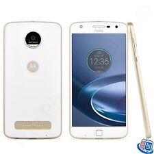 Unlocked Verizon Motorola Droid Moto Z Play Droid White Gold Thin Smartphone