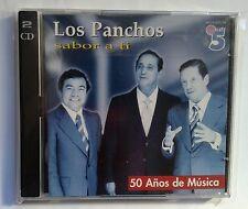"""CDs LOS PANCHOS SABOR A TI  """"50 AÑOS DE MUSICA"""" (2 CDs)"""