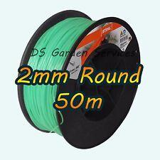 50m of Genuine STIHL 2mm ROUND Brushcutter Strimmer Trimmer Cord Line Wire