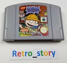 Nintendo 64 N64 - Les Razmoket - La Chasse Aux Trésors - PAL