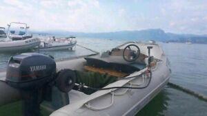 Quicksilver Boot, 3,80m mit Außenborder 15 PS, führerscheinfrei