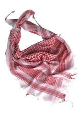 PLO foulard écharpe palestinien ÉCHARPE FOULARD KEFFIEH BLANC / rouge écharpe