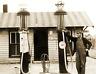 "1930's Gas Station, Essex, Missouri Vintage Old Photo 8.5"" x 11"" Reprint"