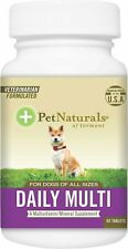 Pet Naturals of Vermont Daily Multivitamin Tablets Dog Supplement