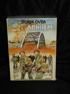 Storm Over Arnhem Bridge Battle Avalon Hill Bookcase Game 1944 WW2 War Strategy