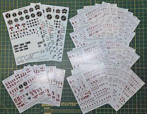 WH40K T'AU Transfer Sheets x35