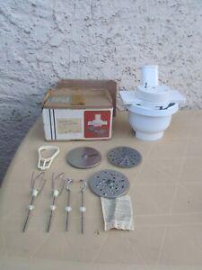 Rohkostgerät AKA für Mixer RG28 und RG 25 mit 3 Scheiben,+ Schlagbesen Knethaken