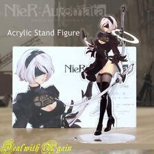 Nier: Automata yorha No.2 tipo B 2B Soporte Mesa Anime Figura Modelo De Acrílico De Regalo
