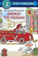 Richard Scarry's Smokey the Fireman (Step into Reading)-ExLibrary