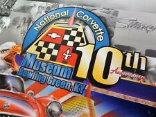 NATIONAL CORVETTE MUSEUM Poster - 10th Anniversary Zora Duntov Grand Sport NCM