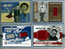 GEORGE HAINSWORTH VINTAGE GU CANADIENS JERSEY ITG SUPERLATIVE GOALIE JUMBO SP