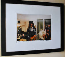 Guns N' Roses Slash Rare backstage at the Roxy fine art photo 1986 signed 9/100