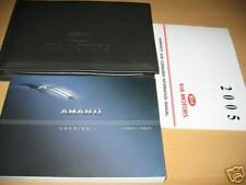 2005 KIA AMANTI OWNERS MANUAL OWNER'S SET W/ CASE