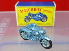 MATCHBOX MOKO LESNEY TRIUMPH MOTO & carrozzino - 4 RARE