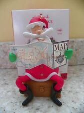Hallmark 2013 I've Been Everywhere Santa Claus Magic Music Christmas Ornament