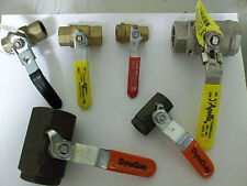 Inline Ball Valves - DynaQuip, Apollo, Red White, extra - Lot of 6