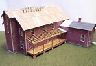 WILL'S FARM SUPPLY HO HOn3 Model Railroad Structure Wood Unptd Laser Kit RSL2008