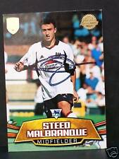 Fulham signed trade card - Steed Malbranque