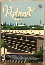 Roland Garros French Open Tennis 2020 official programme