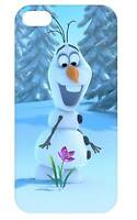 Awesome Frozen Olaf Snowman Flower Hard Back iPhone & Samsung S3/S4 Case Cover
