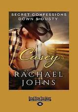 NEW Secret Confessions: Down & Dusty-Casey (Large Print 16pt) by Rachael Johns