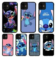 Lilo and Stitch Disney Cartoon Case For iPhone 7 8 Plus XR XS 11 Pro Max Cover