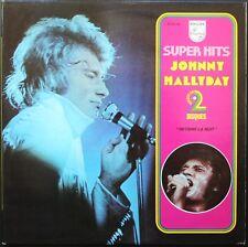 JOHNNY HALLYDAY SUPER HITS RETIENS LA NUIT 33T LP PHILIPS 6641.084 QUASI NEUF