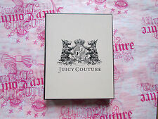 "Juicy Couture Box Gift Storage Jewelry Pink Scottie Dog Logo 10"" x 8"" NWD"
