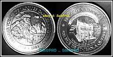 CANADA 1984 JACQUES CARTIER IN QUEBEC MAISON RARE $1 DOLLAR TOKEN COIN w/COA UNC