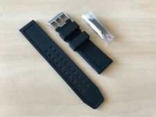 Luminox 23mm Rubber Watch Band Strap Navy Seal Colormark 3050/3950/8800