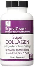 5 Pack Rejuvicare Super Collagen for Health & Beautiful Hair Skin 90 Count Each