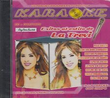 Gloria Trevi Exitos Al Estilo De La Trevi Karaoke New Sealed