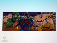 2014 Marvel Premier Hercules Thunderbird Sketch Card Lee Lightfoot Upper Deck UD