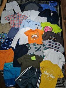 #684💙 Huge Bundle Of Boys Clothes 8-9years GEORGE NEXT F&F H&M REBEL ADIDAS