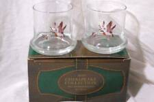 Avon 1981 Chesapeake Collection Boxed Set Of 2 Double Old Fashion Glasses