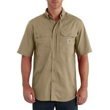 NWT Mens Carhartt Force Short-Sleeve Shirt Medium