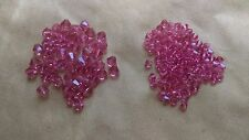 Dark Rose(pink) crystal  Swarovski beads 150 beads