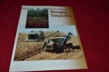 Caterpillar Managing Compaction In Farming Dealer's Brochure YABE13
