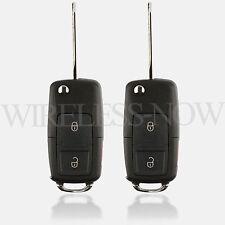 2 Car Flip Key Car Keyless Remote 3B For 2004 2005 2006 2007 Ford Freestar