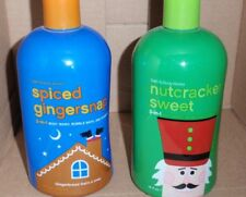 BATH AND BODY WORKS 3-IN-1 BODY NUTCRACKER SWEET & SPICED GINGERSNAP BRAND NEW