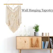 Macrame Wall Hanging Tapestry Decor Boho Chic Woven Home Decoration