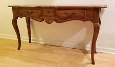 Ethan Allen Country French Sofa Console Table in Excellent Condition