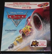 Cars 3 Blu-ray, DVD & Digital + Lightning McQueen Puzzle Car (Target Exclusive)